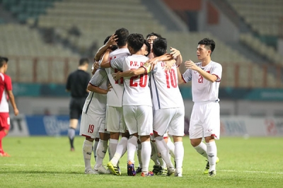 Asiad: Vietnam U23s storm into Round of 16 after second win
