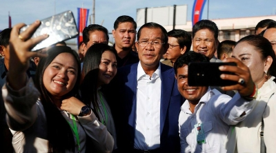 Cambodian PM's party wins all 125 parliamentary seats in recent election: official results