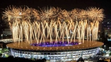 Explosive opening ceremony for Asian Games 2018