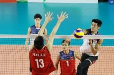 Asiad day two: Vietnam beat China in men's volleyball