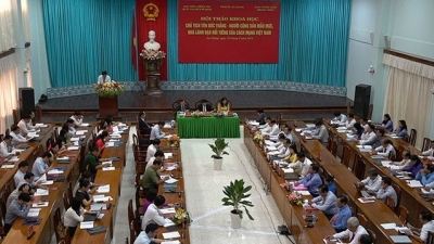 Workshop marks 130th birthday of former President Ton Duc Thang