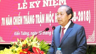 Deputy Prime Minister attends 70th anniversary of Moc Hoa victory