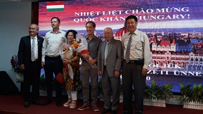 Gathering celebrates Hungary's National Day in HCM City
