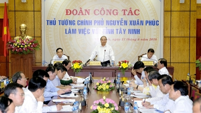 PM expects Tay Ninh to become a wealthy agriculture-based province