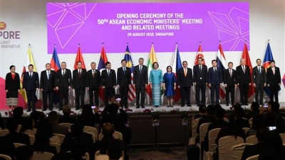 50th ASEAN Economic Ministers Meeting opens in Singapore