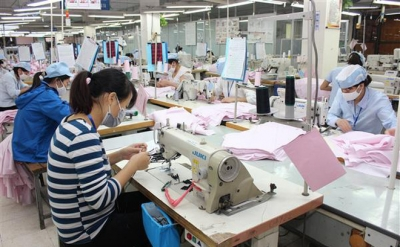 Textile-garment exports hit US$19.4 billion in eight months