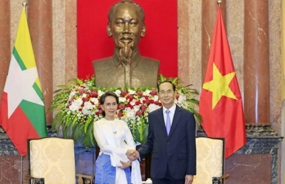 President affirms support for Myanmar's peace process