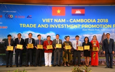 Vietnam - Cambodia trade and investment promotion forum opens