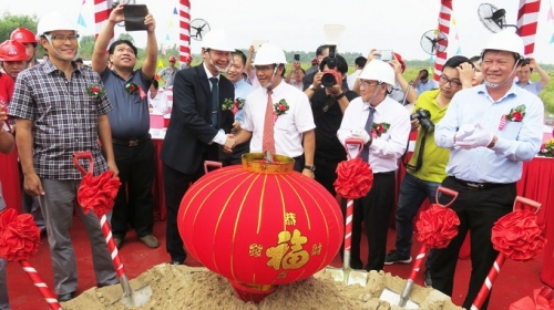 Work starts on US$49.75 million solar power plant in Long An