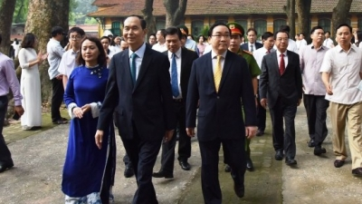 Farewell to President Tran Dai Quang - a dedicated and responsible leader