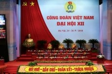 Vietnam Trade Union convenes 12th congress in Hanoi