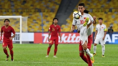 Vietnam U16s facing elimination after 1-1 draw with Indonesia