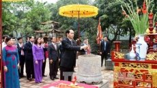 Ninh Binh always proud of late President Tran Dai Quang
