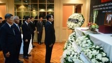 Vietnamese Embassies hold memorial ceremonies for President Tran Dai Quang