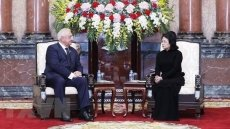 Acting President receives Belarusian Senate Chairman