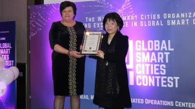 "Vietnam wins ""best smart nation concept"" award at global smart cities contest"