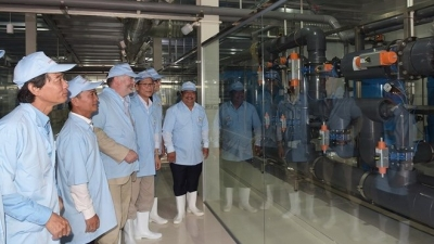 Vietnam's largest water treatment plant for shrimp farming inaugurated