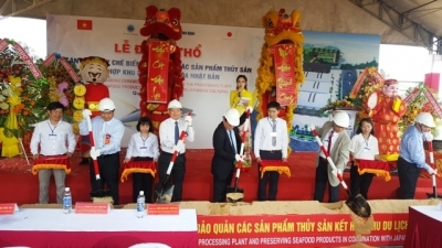 Work starts on US$8 million seafood processing plant in Binh Dinh