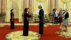 Acting President welcomes newly-accredited ambassadors to Vietnam