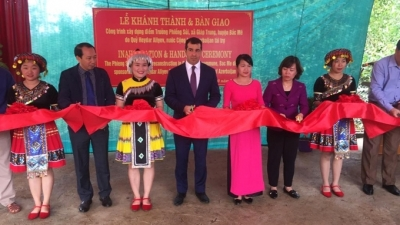 Azerbaijan-funded primary school inaugurated in Ha Giang