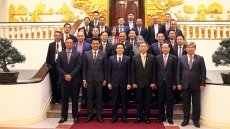 Deputy PM hosts leaders of AMMD-6 delegations