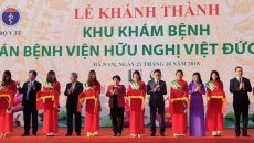 Outpatient departments of branches of Viet Duc and Bach Mai hospitals inaugurated