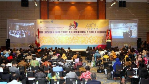 Conference spotlights open education in human resource development