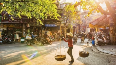 Hanoi in changing season