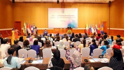 ASEAN ministers seek measures to improve social welfares for women and girls