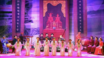 Ca tru artists show off talents at national festival in Ha Tinh