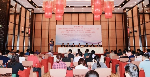 Press conference on annual Vietnam – China trade, tourism
