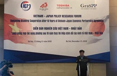 Forum discusses measures to enhance Vietnam – Japan economic cooperation