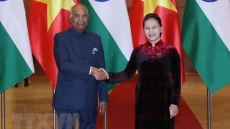 Top legislator meets with Indian President