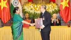 Vietnam pledges close coordination with India