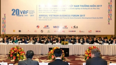 Vietnam Business Forum to convene year-end session on December 4: VCCI