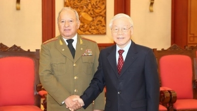 November 26 - December 2: Party chief commits support to defence ties with Cuba