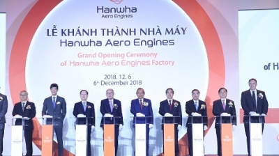 Vietnam's first aircraft engine parts factory inaugurated