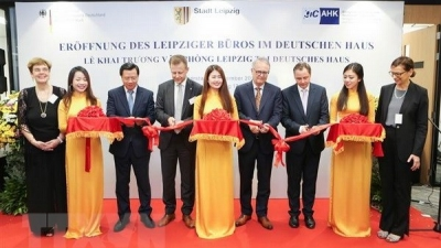 Germany's Leipzig city opens representative office in HCM City