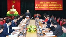 PM asks Hoa Binh to develop plans on natural disaster prevention
