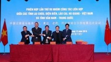Vietnamese border localities strengthen ties with China's Yunnan province