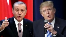 Trump, Erdogan talk about Syria concerns over phone amid rising war of words