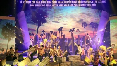 Ha Tinh marks 240th birthday and 160th death anniversary of Nguyen Cong Tru
