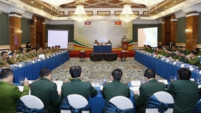 Vietnam, Laos boost anti-drug cooperation in border areas