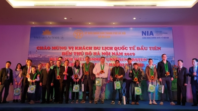 Vietnam welcomes first international visitors in 2019