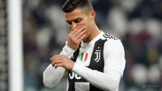 Ronaldo misses penalty as Juve beat bottom side Chievo