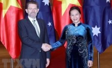 Vietnamese, Australian top legislators hold talks