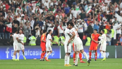 Iran steamroller China to reach semi-finals of Asian Cup