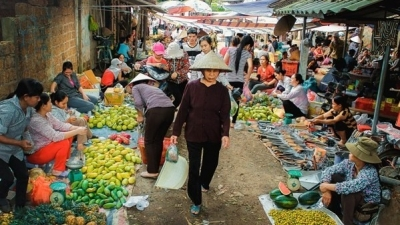 In memory of bustling market ahead of Tet in Hanoi's suburban areas