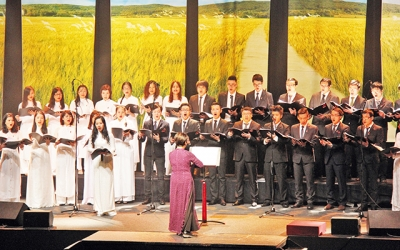 Songs about beloved Fatherland of Vietnam promoted in France