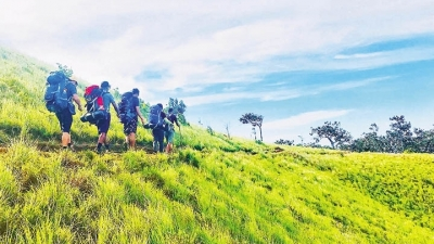 Tracing the footprints of Central Highlanders in their olden forest trail
